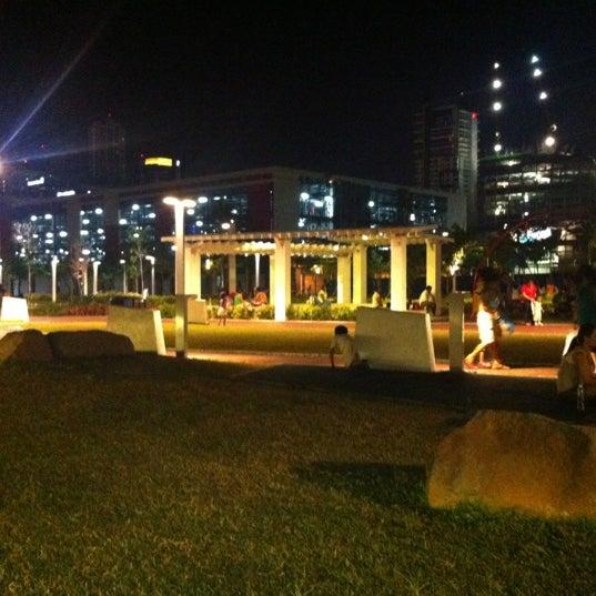 Photo taken at Bonifacio High Playground by Alecz G. on 4/29/2012
