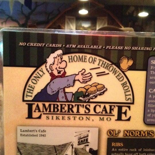Photo taken at Lambert's Cafe by MarKel on 8/17/2012