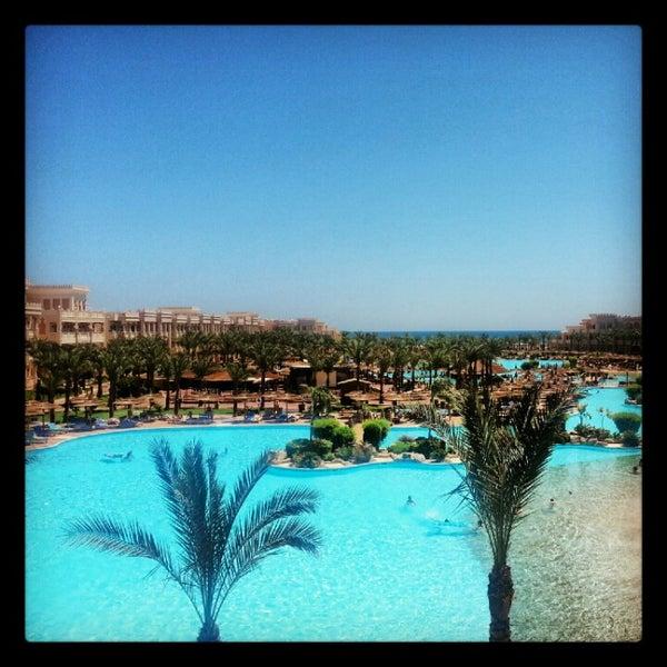 Photo taken at Albatros Palace Resort & Spa by Ivan B. on 8/25/2012