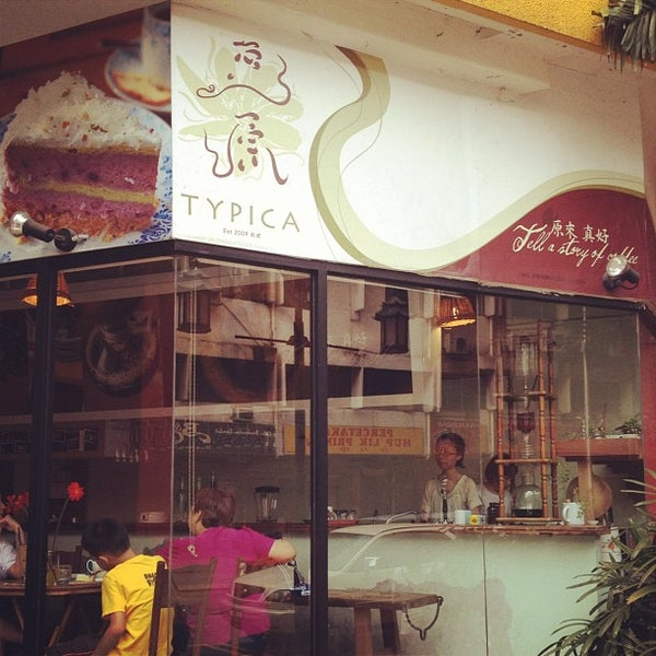Photo taken at Typica Café by Keropok M. on 6/1/2012
