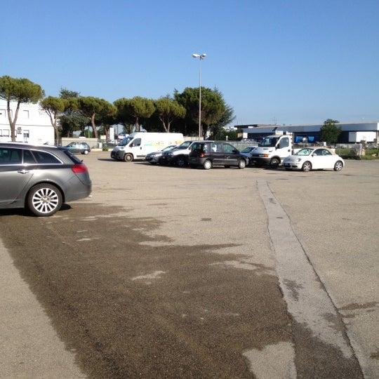 Photo taken at Parcheggio Via Sassonia by Namer M. on 5/2/2012