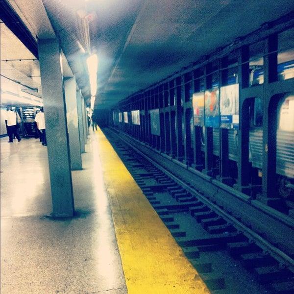 Photo taken at SEPTA MFL/TRL 15th Street Station by Adrian R. on 5/14/2012