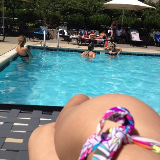 Photo taken at Grand Plaza Pool by Julia K. on 7/8/2012