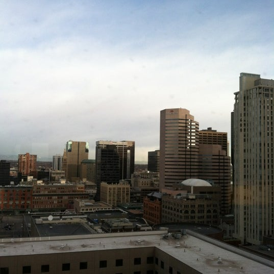 Photo taken at Sheraton Denver Downtown Hotel by Gabe H. on 3/1/2012
