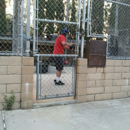 Photo Taken At Home Run Park Batting Cages By Candace H On 6 2