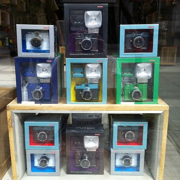 Photo taken at Lomography Gallery Store by Gabriel J. on 2/20/2012