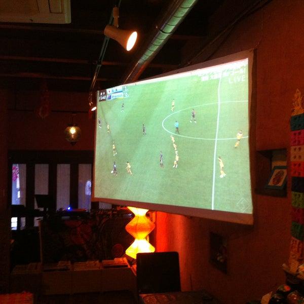 Photo taken at tamutamucafe by tamutamucafe on 7/11/2012