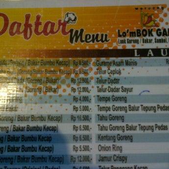 Photo taken at Lombok Galak by agoeng c. on 6/22/2012