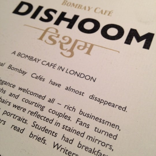 Photo taken at Dishoom by Ian G. on 2/26/2012
