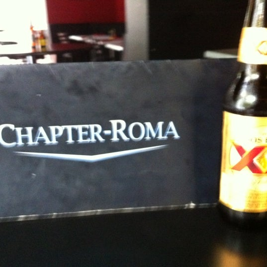 Photo taken at Chapter-Roma by Mauricio R. on 9/1/2012