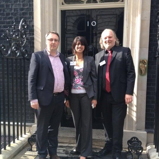 Photo taken at 10 Downing Street by Nick B. on 6/21/2012
