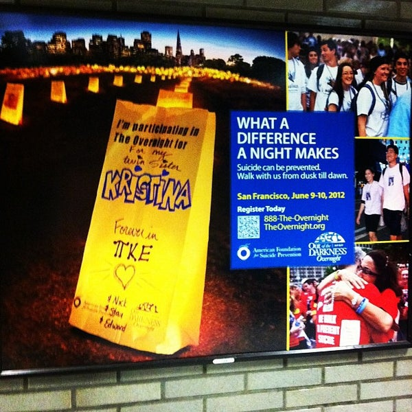 Photo taken at Civic Center/UN Plaza BART Station by Steve R. on 2/22/2012