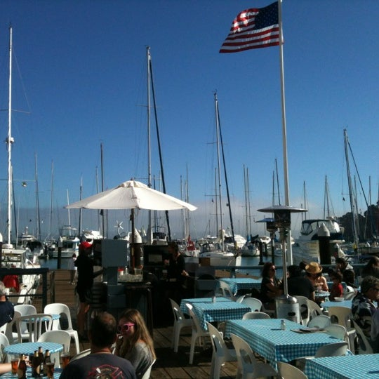 Photo taken at Sam's Anchor Cafe by Sarah Grace W. on 8/24/2012