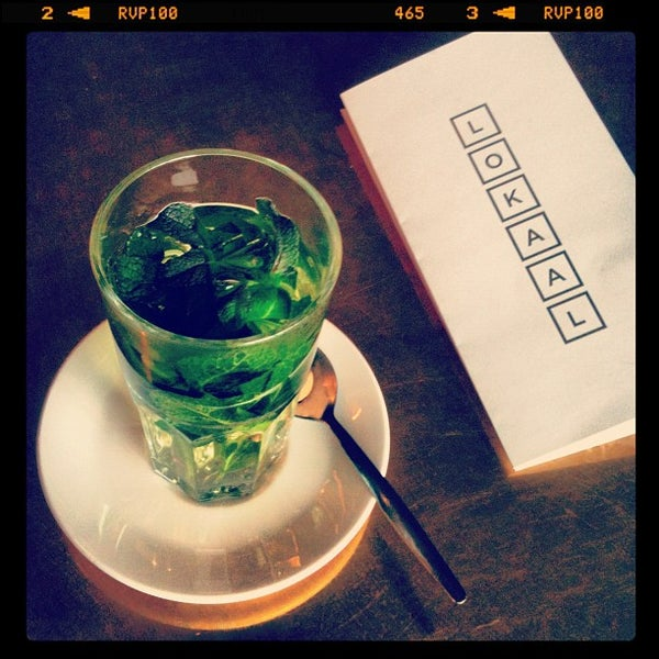 Photo taken at Lokaal Espresso by Christine F. on 3/13/2012