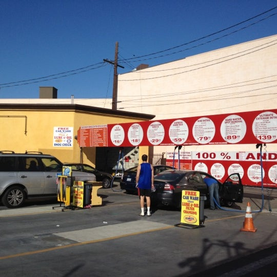 Photo taken at Handy J Car Wash by Chad S. on 3/8/2012
