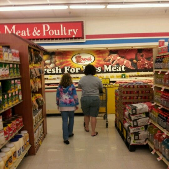 photo taken at rowes iga by stephen s on 4