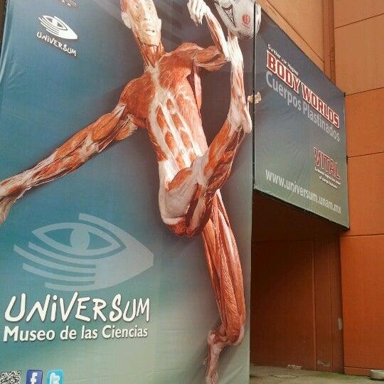 Foto tomada en Universum, Museo de las Ciencias por Aldiux A. el 8/22/2012