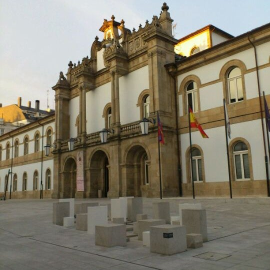 Foto tirada no(a) Deputación de Lugo por Bluecat G. em 2/22/2012