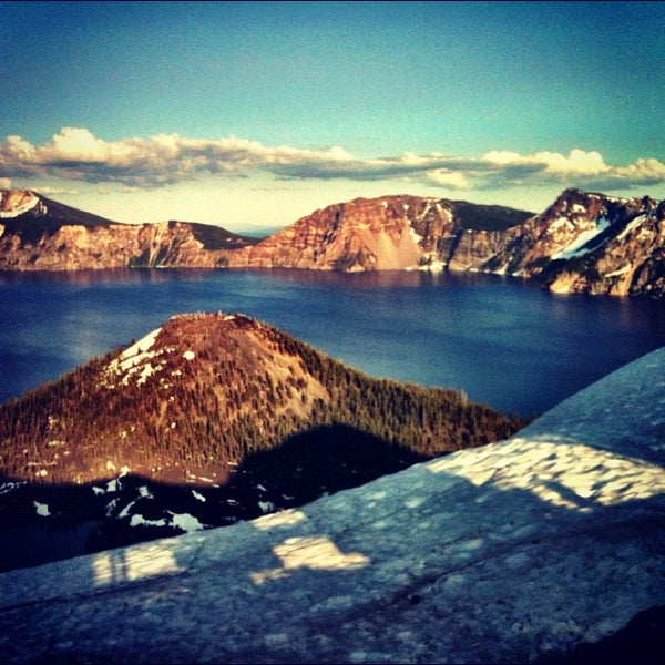 Photo taken at Crater Lake National Park by Christina P. on 7/6/2012