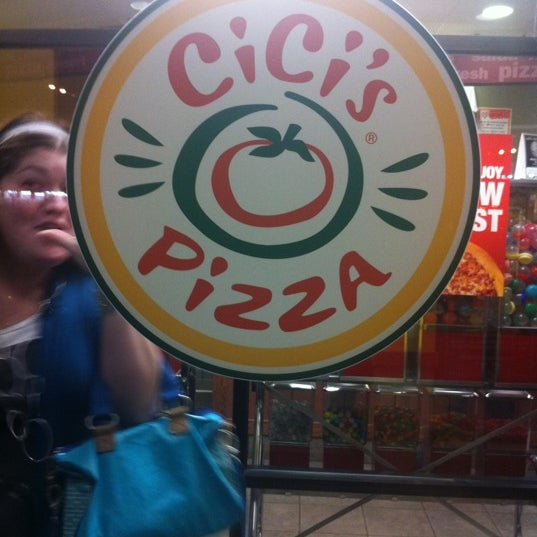 Photo taken at Cicis by Kelly C. on 3/11/2012