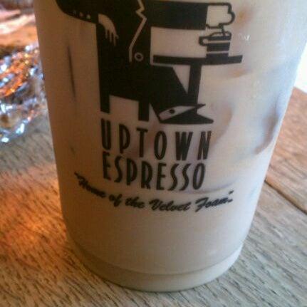 Photo taken at Uptown Espresso by Elissa F. on 10/20/2011