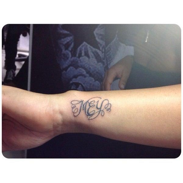 Photo taken at Tattoo O'd studio by Boho M. on 7/7/2012