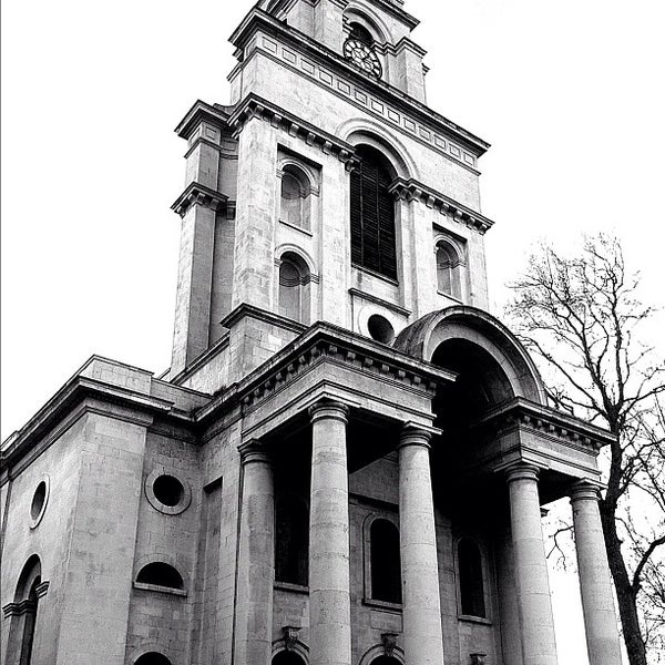 Photo taken at Christ Church by Mike R. on 1/26/2012