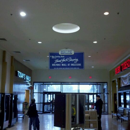 Photo taken at Holyoke Mall at Ingleside by Kyle B. on 12/27/2011