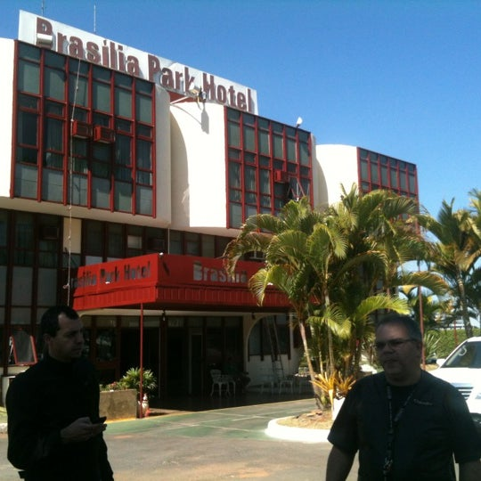 Photo taken at Brasília Park Hotel by Juça Bala A. on 7/26/2012