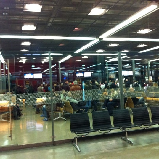 Photo taken at Terminal 3 by Christoph W. on 12/26/2011