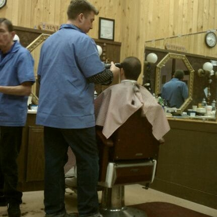 Cape Cod Mall Theater Part - 48: Photo Taken At Cape Cod Mall Barber Shop By Michael H. On 2/4