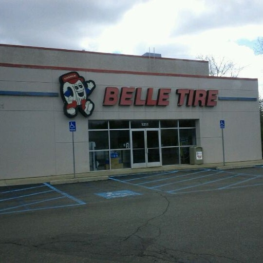 Belle Tires hours and Belle Tires locations along with phone number and map with driving directions.