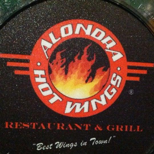 Photo taken at Alondra Hot Wings by Esteban R. on 8/5/2012