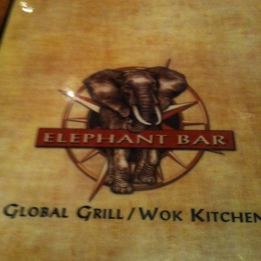 Photo taken at Elephant Bar Restaurant by Jasmine L. on 8/11/2011
