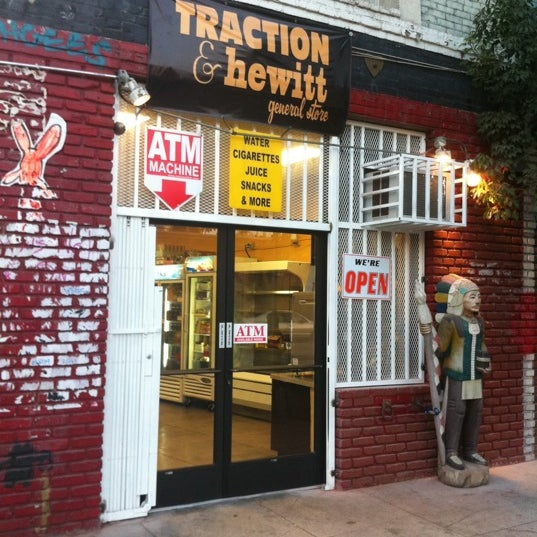 Photo taken at Traction & Hewitt General Store by Sean R. on 9/22/2011