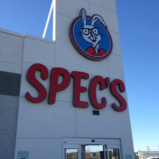 Photo prise au Spec's par Shannon F. le12/30/2011