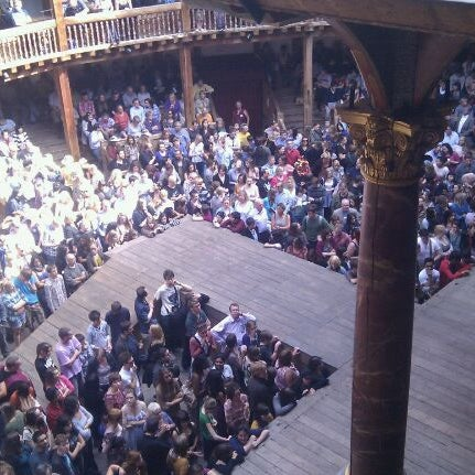 Photo taken at Shakespeare's Globe Theatre by Anjuli C. on 9/25/2011