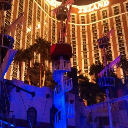 Photo taken at Treasure Island - TI Hotel & Casino by Nicole W. on 12/31/2011