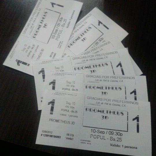 Foto tomada en Cine Movie Planet por Luisana A. el 9/11/2012