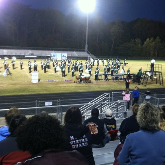 Photo taken at West Stokes High School by Gina A. on 10/15/2011