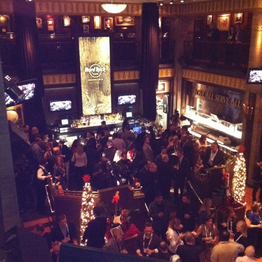 Photo taken at Hard Rock Cafe Washington DC by Robyn M. on 12/15/2011
