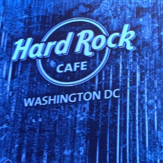 Photo taken at Hard Rock Cafe Washington DC by Stephanie F. on 10/30/2011