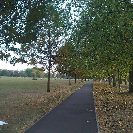 Photo taken at Clapham Common by Norris C. on 10/23/2011