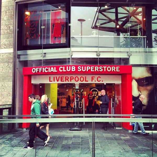 Photo taken at Liverpool FC Official Club Store by Cliffiandri A. on 6/15/2012