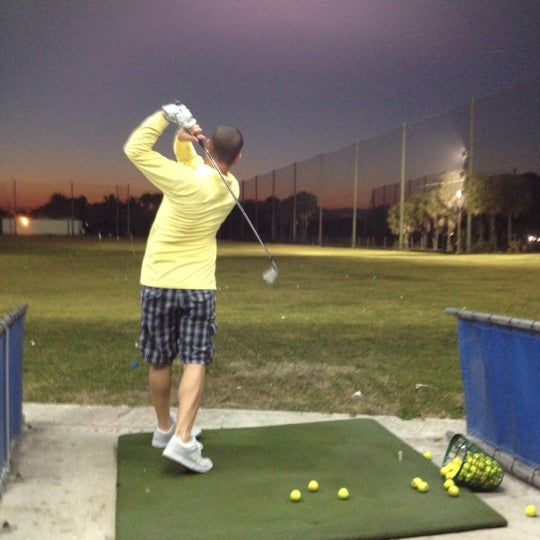 Photo taken at Palmetto Golf Course by Mo on 1/10/2012