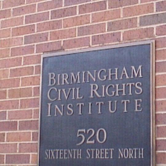 Photo taken at Birmingham Civil Rights Institute by Sophia on 8/15/2011