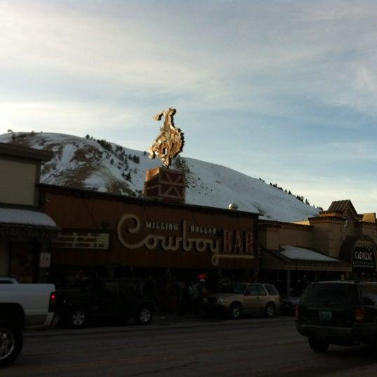 Photo taken at Million Dollar Cowboy Bar by Yael on 3/9/2012