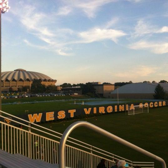 Photo taken at Dick Dlesk Soccer Stadium by Jeremy H. on 8/12/2012