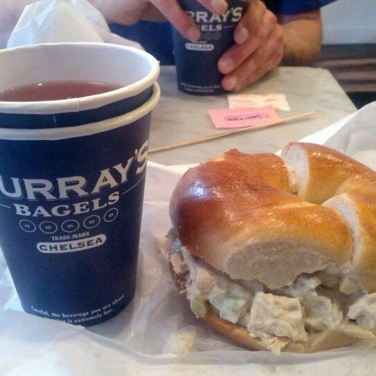 Photo taken at Murray's Bagels by Jeroen B. on 5/24/2012