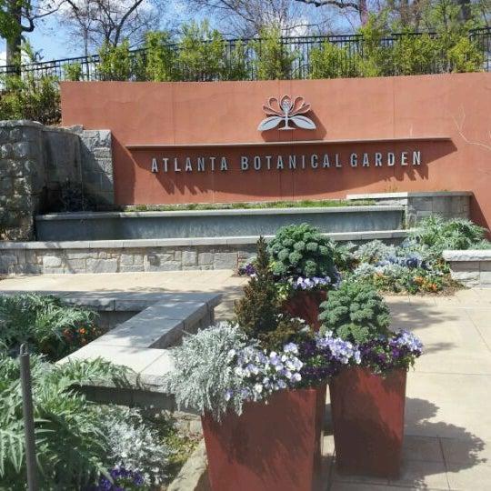 Photo taken at Atlanta Botanical Garden by Stephanie A. on 3/15/2012